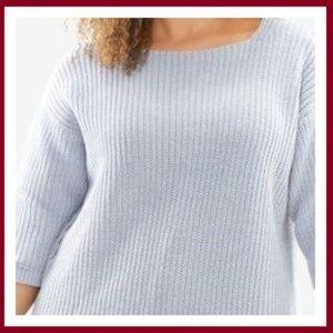 Square Neck Pullover